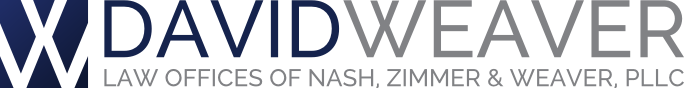 Bozeman Attorney David L. Weaver Logo | Nash, Zimmer & Weaver, PLLC